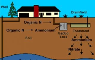 schematic of septic system