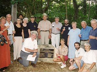 Zinn Park Dedication in 2001